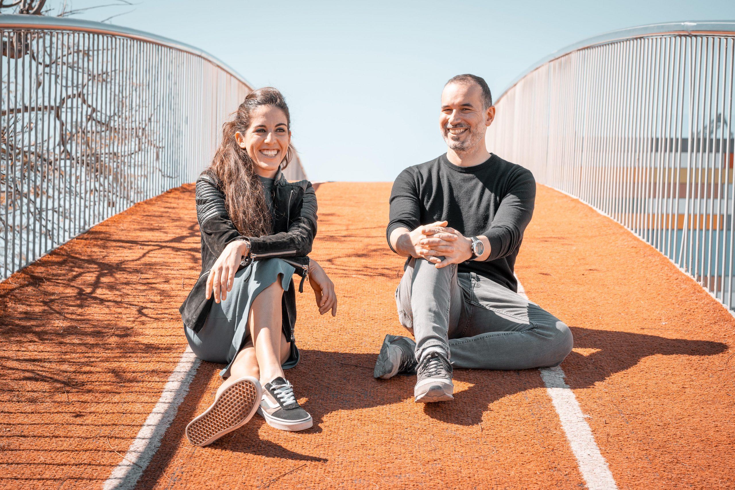 Elisa Prone y Rubén Montesinos